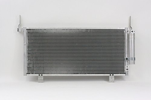 Mitsubishi Galant Ac Condenser Cooling (A-C Condenser - Pacific Best Inc For/Fit 3770 09-12 Mitsubishi Galant WITH Receiver & Dryer)