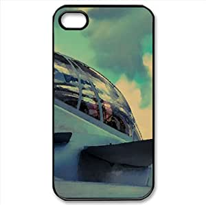 Cockpit Watercolor style Cover iPhone 4 and 4S Case