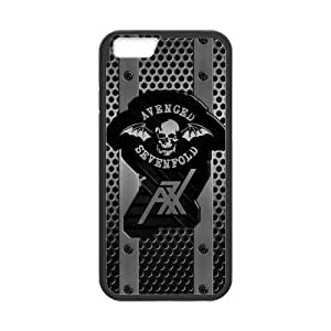Protective TPU Rubber Coated Case Cover for iPhone 6 - A7X Avenged Sevenfold WANGJING JINDA