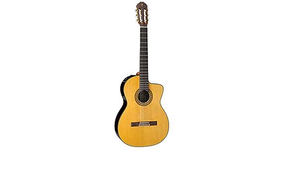 Takamine TC132SC - Guitarra clasica electrificada cutaway: Amazon.es: Instrumentos musicales