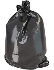 Tough Guy 36 gal. LLDPE Extra Heavy Trash Bags, Coreless Roll, Black, 25PK - 5WG09 (Pack of 2)