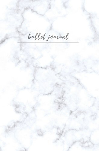 Bullet Journal: Dot Bullet Journal; Small Blank Dot Grid Journal for Women; (5.25 x 8 in.) -blank dotted pages for Diary, Planner, Calligraphy, Hand ... Journal and Notebook Collection) (Volume 1)