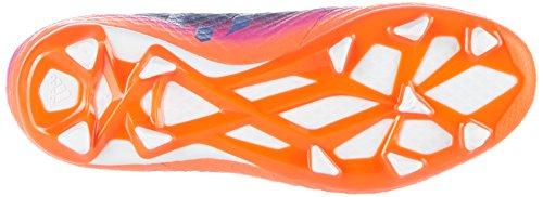 adidas Messi 16.1 FG J, Scarpe da Calcio Bambini Unisex, Blu (Blue / Ftwr White / Solar Orange), 35 EU