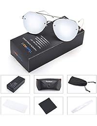 Polarized Sunglasses for Men Women Oversized Vintage...