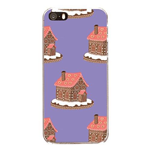 """Disagu Design Case Schutzhülle für Apple iPhone 5s Hülle Cover - Motiv """"Lebkuchenhaus - Violett"""""""