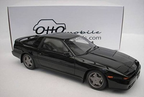 Amazon.com: Japan Import Otto-models 1/18 Toyota Supra 2.5GT twin turbo R black: Toys & Games
