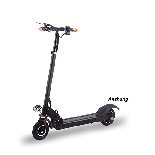 Anshang Foldable high speed sports Electric Scooters S6(Black, 18.8AH)