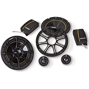 "2) NEW KICKER DS652 6.5"" 240W 2-Way 4-Ohm Car Audio Component Speakers 11DS652"