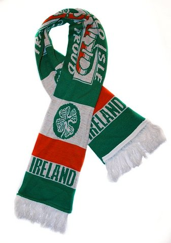 - Ireland Soccer Team - Premium Fan Scarf,Ships from USA