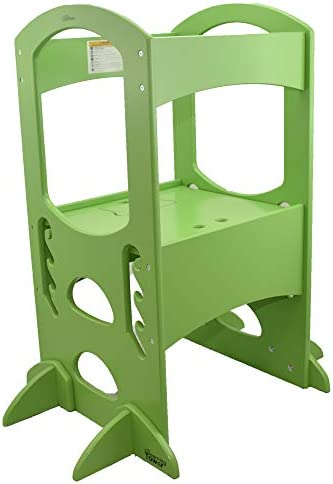 Astonishing Little Partners Learning Tower Kids Step Stool Adjustable Short Links Chair Design For Home Short Linksinfo