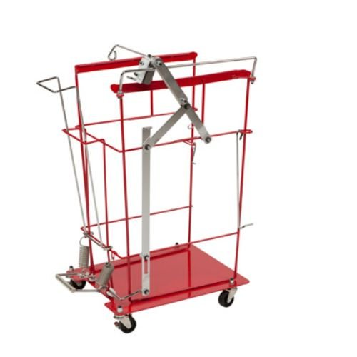 Covidien 8991FP SharpSafety Foot Pedal Cart for Hinged Lid Container, 12 and 18 gal