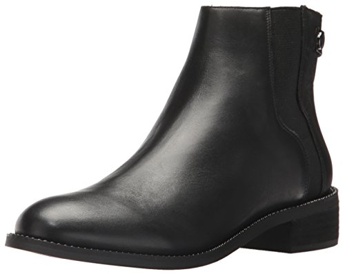 Franco Sarto Women's Brandy, Black, 8 M US (Leather Women Boots Sarto Franco)