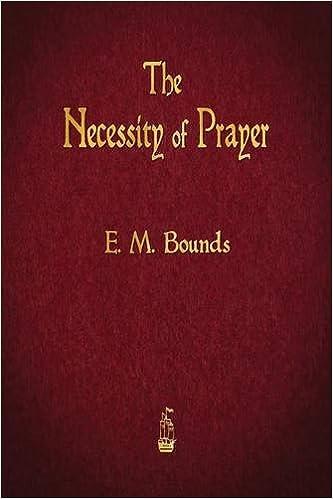Book The Necessity of Prayer