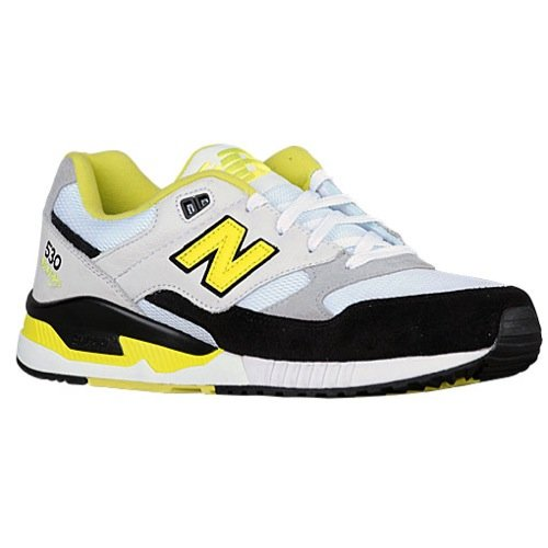 Mansedumbre Ocurrir barba  New Balance Men's M530-90's Remix Collection Fashion Sneakers (11.5 M US,  White/Black/Yellow Leather) (B01002AHYQ) | Amazon price tracker / tracking,  Amazon price history charts, Amazon price watches, Amazon price drop alerts