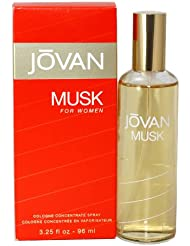 JOVAN MUSK by Jovan Cologne Concentrate Spray 3.25 oz (Women)