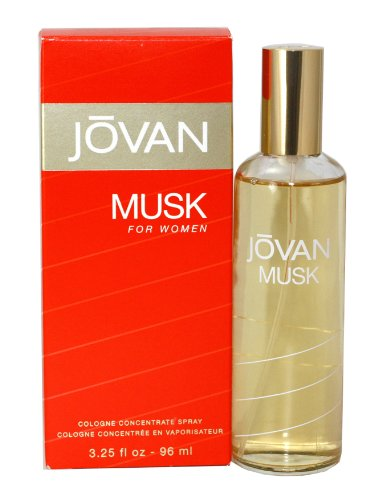 Jovan Musk For Women By Coty Cologne Concentrate Spray 3.25 oz Concentrate Fragrance