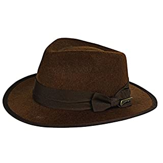 Rubie's Costume Child's Indiana Jones Fedora Hat, Brown, One Size