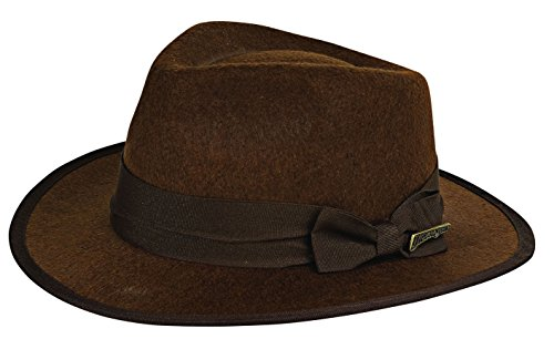 Rubie's Costume Child's Indiana Jones Fedora Hat, Brown, One Size -