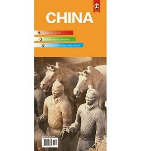 China Travel Map (Panda Guides)...