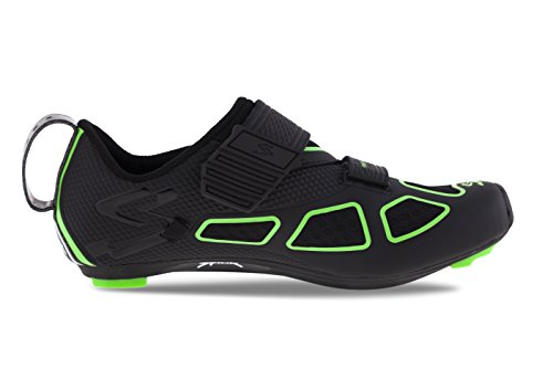 Adulte Noir Spiuk Chaussure Unisexe Trivium Vert Triathlon xROXBI