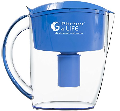 Pitcher of Life Alkaline Water Pitcher (3.5L) by Life Ionizers