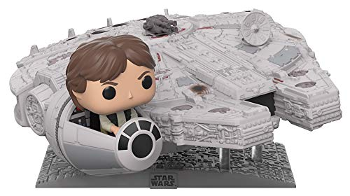 (Funko Pop! Deluxe: Star Wars - Millennium Falcon with Han Solo, Amazon Exclusive)