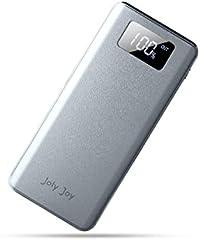 Joly Joy - 11000mAh Batería Externa con Pantalla LCD, 2 Puertos de Sal