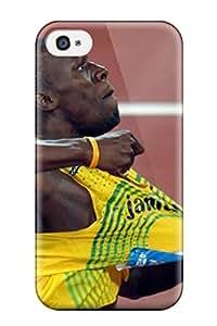 Megan S Deitz's Shop Series Skin Case Cover For Iphone 4/4s(usain Bolt Running)