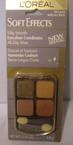 Loreal Soft Effects Eyeshadow Quad