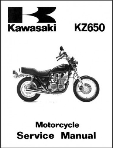 99924-1028-01 1981 Kawasaki KZ650 Service Manual ... on