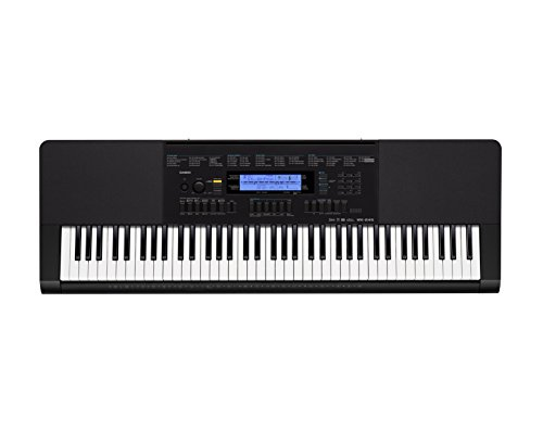 Casio Inc. WK245 76-Key Touch Sensitive Keyboard with Power
