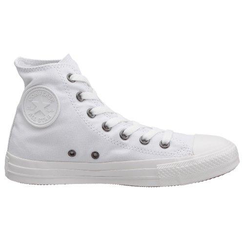 Bianco Converse Unisexe blanc All Hi Star Canvas Sneaker Adulto 0ZTvUwqx