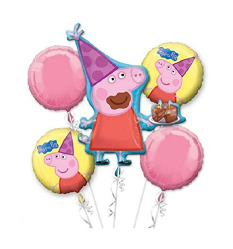 Peppa Pig Birthday Party Bouquet 35