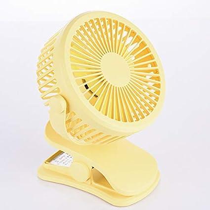 RONSHIN Wireless Fan-Cooling FanWireless Fan,Portable Rechargeable Mini USB Fan Chic Cooling 360 Degree Rotation Fan with Colorful Led Night Light Pink
