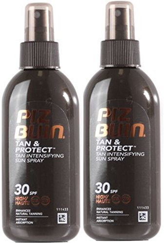 Piz Buin TAN INTENSIFIER Lotion SPRAY SPF30 (2 PACK) 150ml each Johnson & Johnson