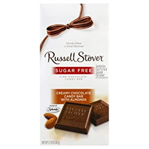 Russell stover fine chocolate sugar free for Food bar russell