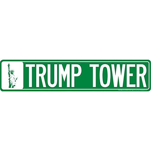 Signs 4 Fun SSNY6 NY Trump Tower Street Sign