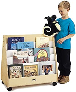 product image for Jonti-Craft 3507JC Double Sided Pick-a-Book Stand, Mobile