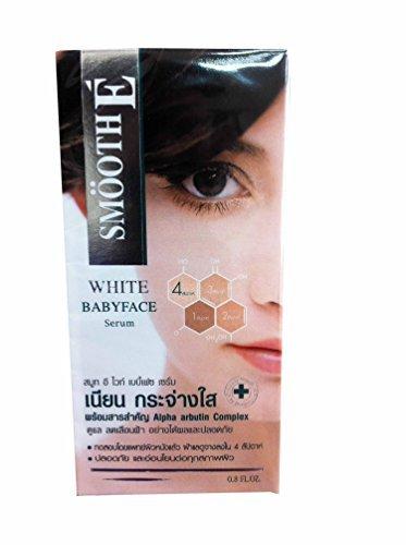 Smooth E White Babyface Serum, Anti-melasma + Anti-aging + W
