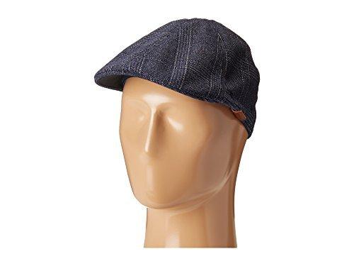 Kangol 504 Wool Cap Hat (Kangol  Men's Pattern Flexfit 504 Navy Check Hat)