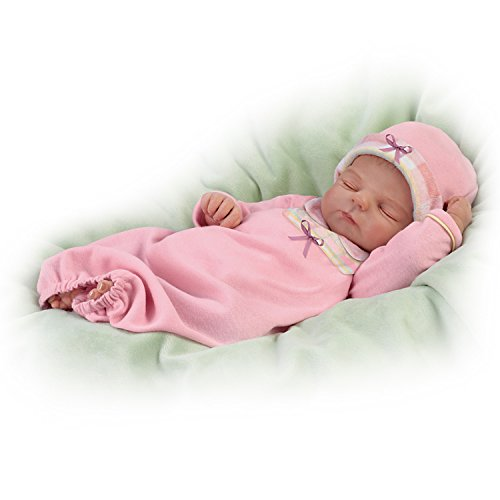Violet Parker Sleep Tight Emma Lifelike Baby Doll by The Ashton-Drake Galleries