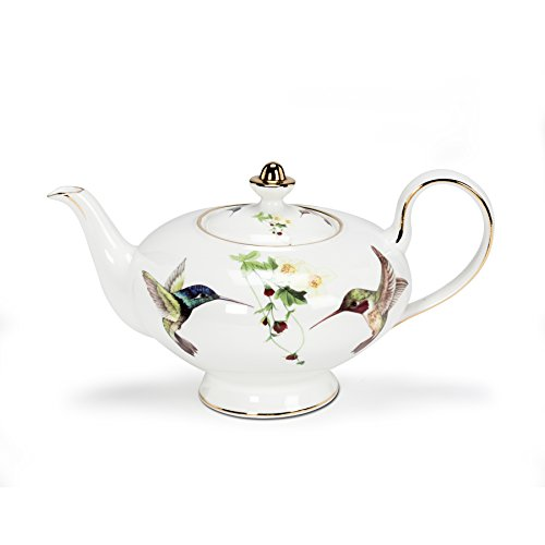 Abbott Collection Ambrosia Hummingbird Teapot