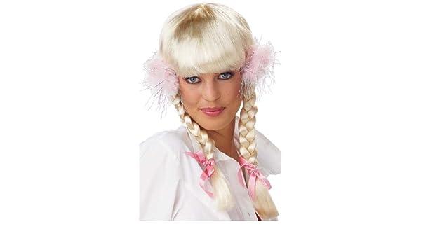 Britney Spears Style Schoolgirl Pop Princess Wig (struts-9813 ...