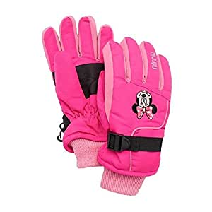 Amazon.com : Disney's Minnie Mouse Ski Gloves Girls 4 16