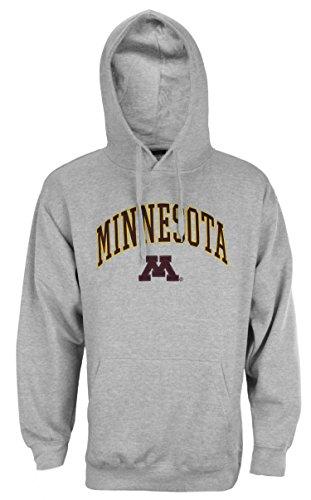 Outerstuff University of Minnesota Golden Gophers NCAA Mens Fleece Hoodie, Grey