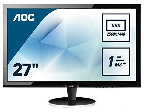"27"" LED LCD Monitor - 16:9 - 1 ms"