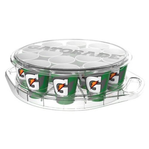 Gatorade Drinking Cup Carrier with Lid