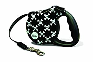 Paul Frank Retractable Dog Leash, Signature Skurvy, Small