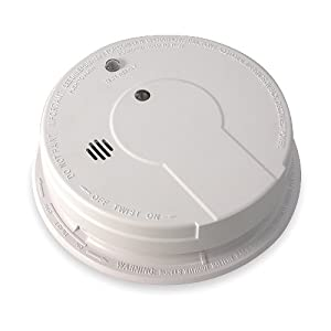 Kidde i12040 Hardwire Smoke Alarm with Hush Feature and Battery Backup, Alkaline Battery