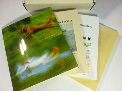 Edward Tufte Box Set (Beautiful Evidence + Visual Explanations + Envisioning Information + The Visual Display of Quantitative Information)
